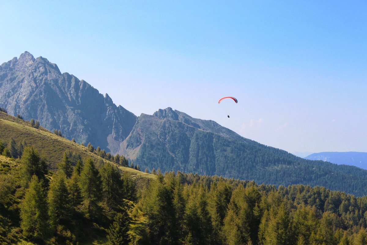 Paragliding the beautiful Glenwood Springs
