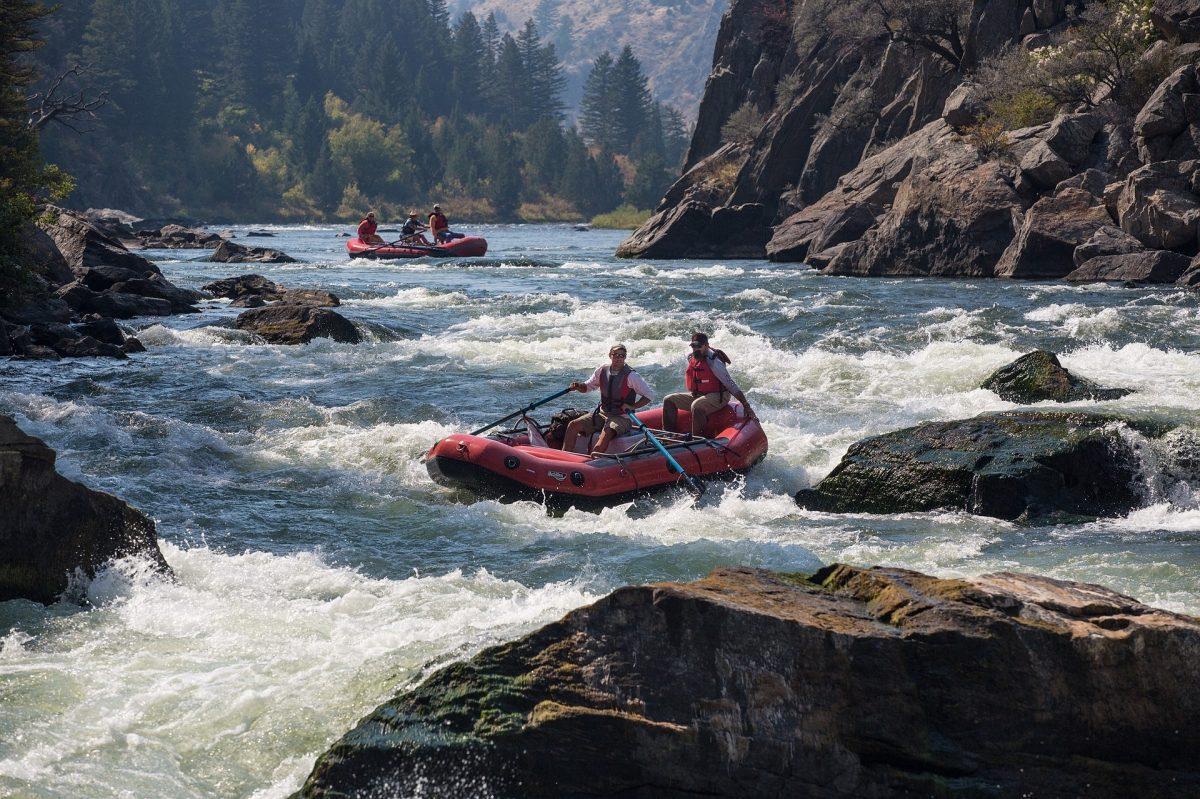 Rafting at Colorado River