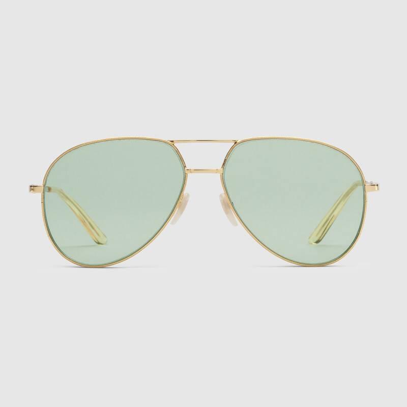 Pilot Gucci Sunglasses