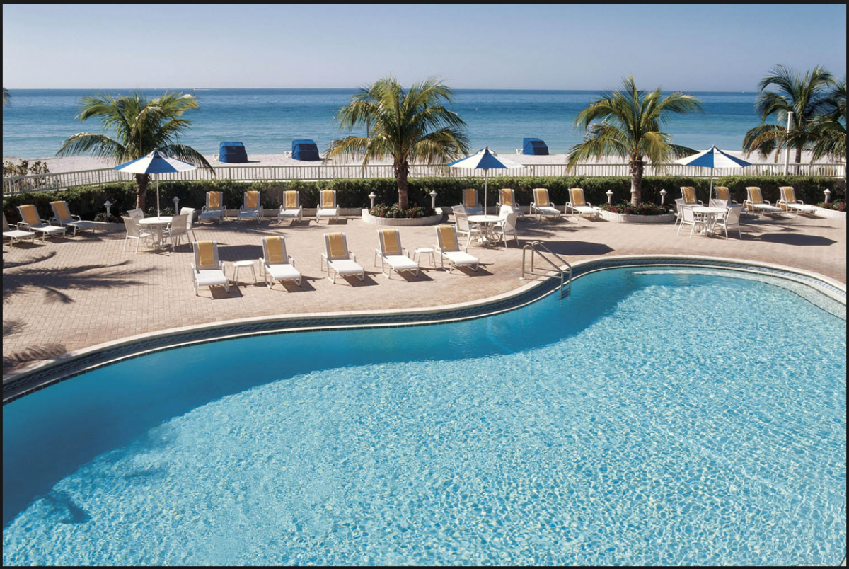 At the Lido Beach Resort, you can find not one, but two swimming pools catered for all individuals of all ages