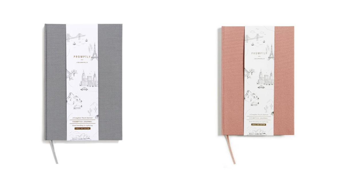 Promptly Travel Journals, Minimalist