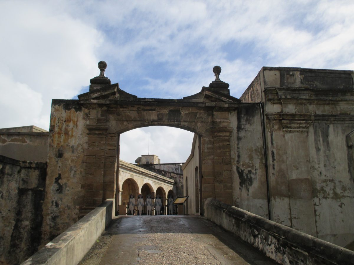 Another protective fort built to protect San Juan, Castillo San Cristóbal is the largest fortification ever built by the Spanish in the New World.