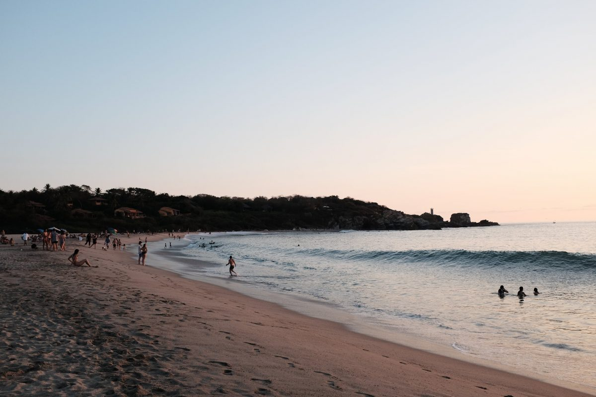 Things To Do In Puerto Escondido, Beaches, Playa Carizalillo, Playa Zicatela