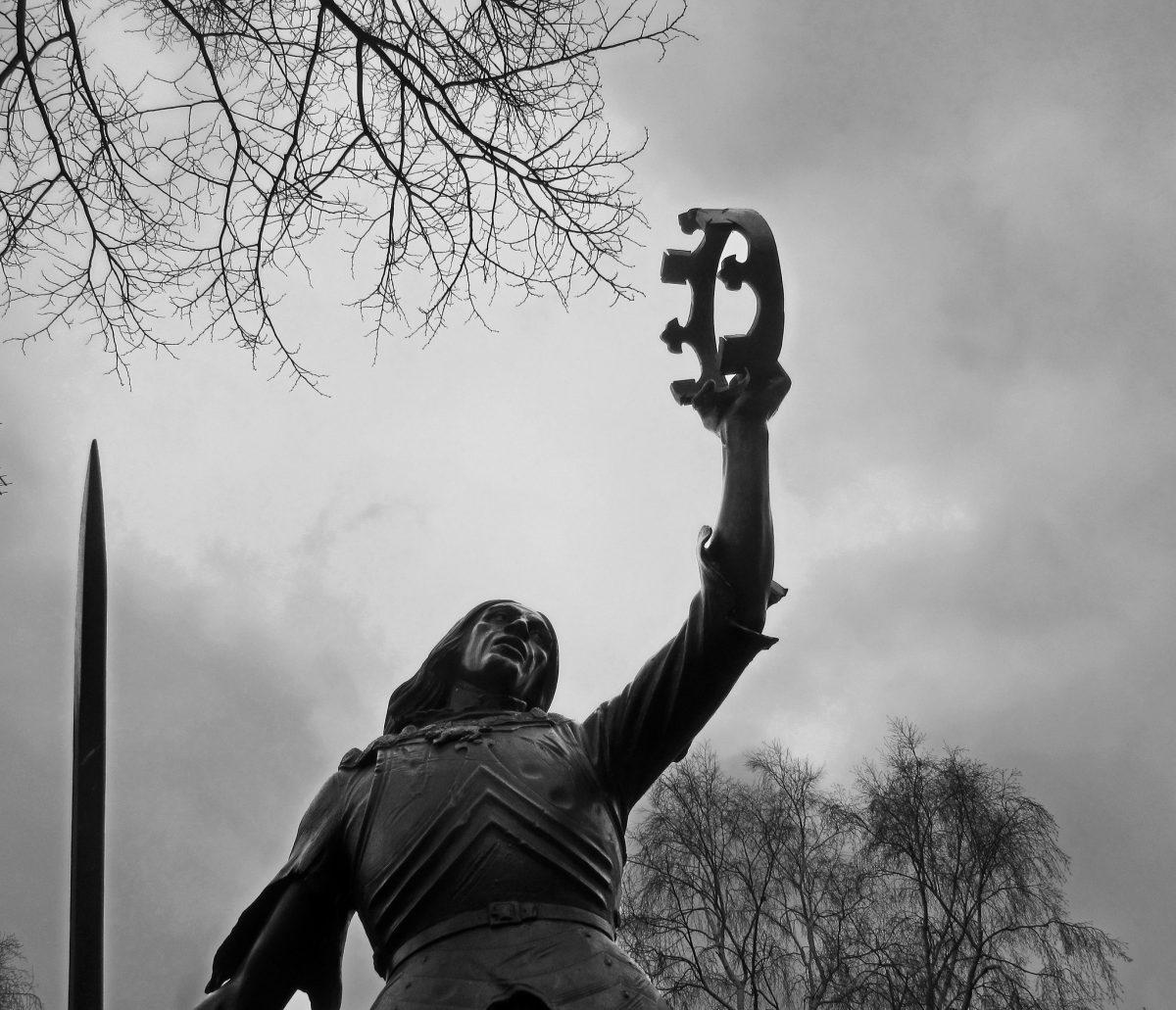 Statue of King Richard III