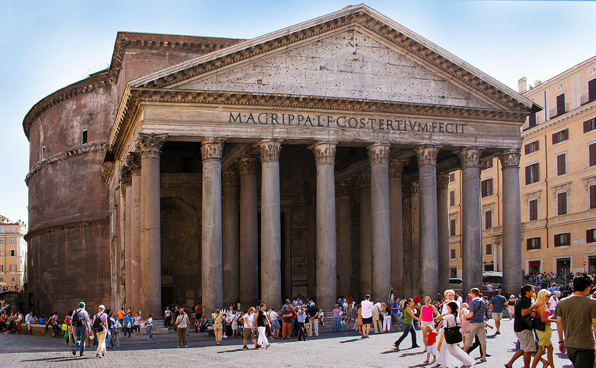 Rome Pantheon front - All You Need To Know About Visiting The Trevi Fountain In Rome