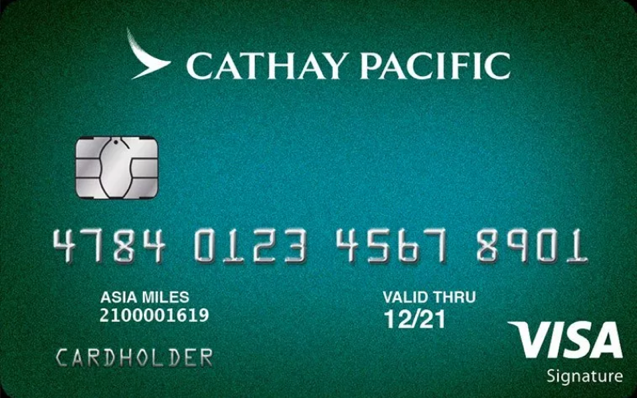 Cathay Pacific Visa Signature credit card