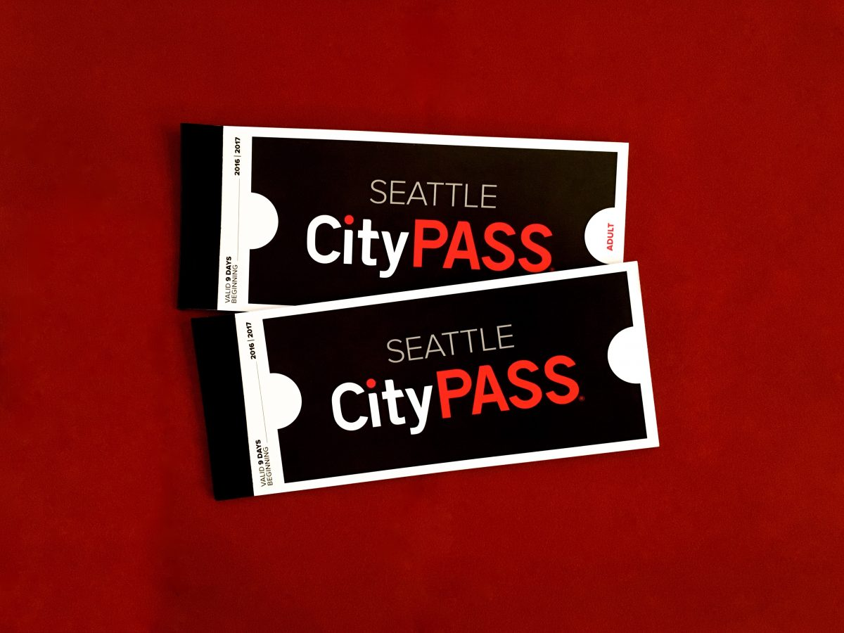Seattle CityPASS Ticket Booklets