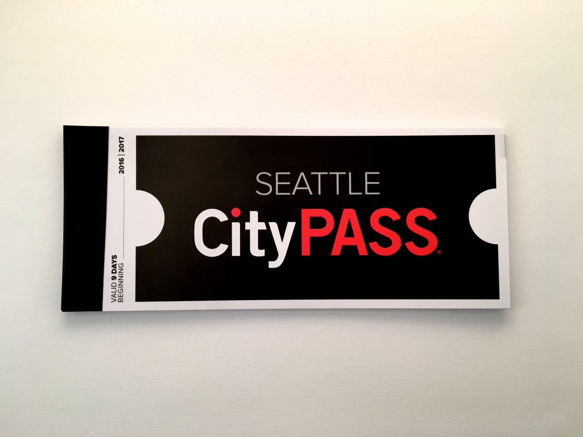 Seattle CityPASS Ticket Booklet