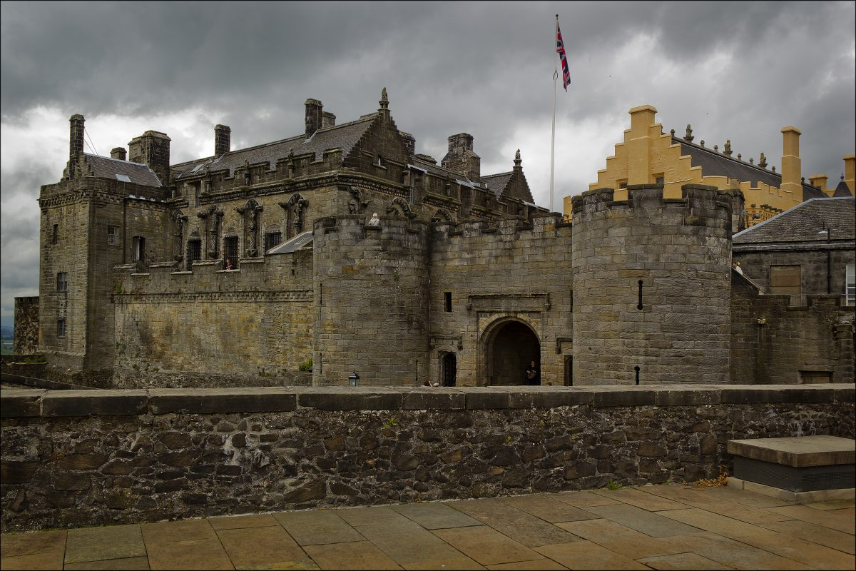 One of the largest castles in the whole of Scotland, Sterling Castle is an integral part of Scottish history.