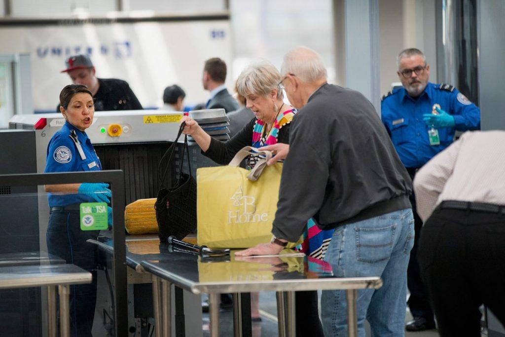 TSA Baggage check at AirPort