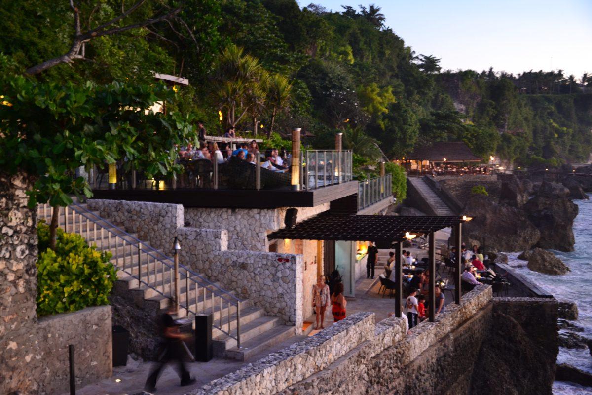 Rock bar at AYANA resort, Jimbaran