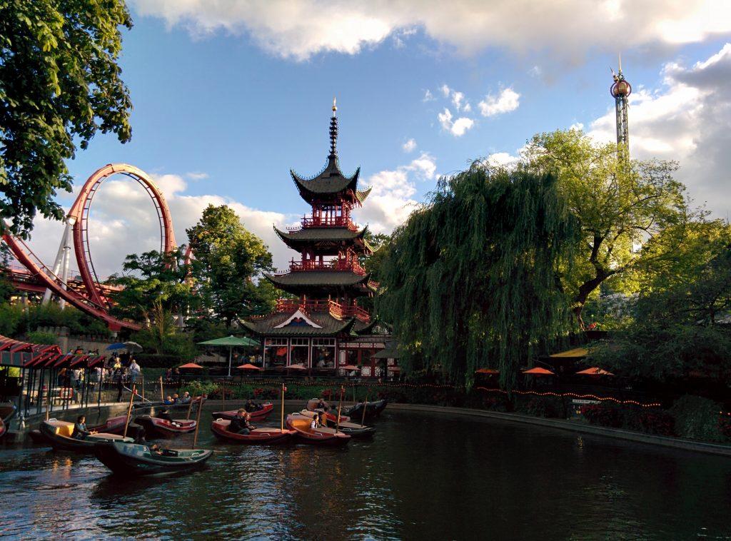 Kayak at Tivoli Gardens