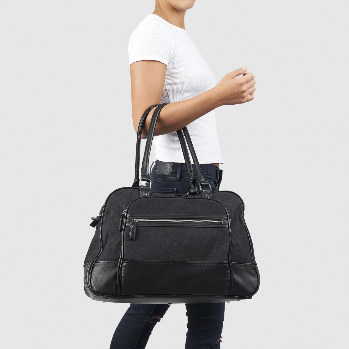 Overnight Bag By Urban Originals, Vegan Leather Bags
