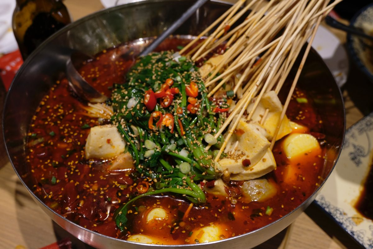 Spicy Hot pot meal