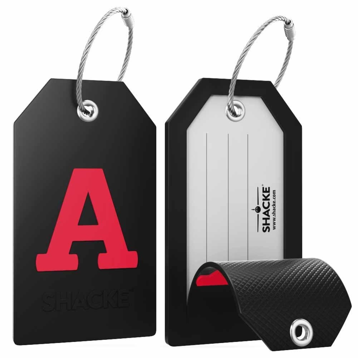 Shacke Initial Luggage Tag