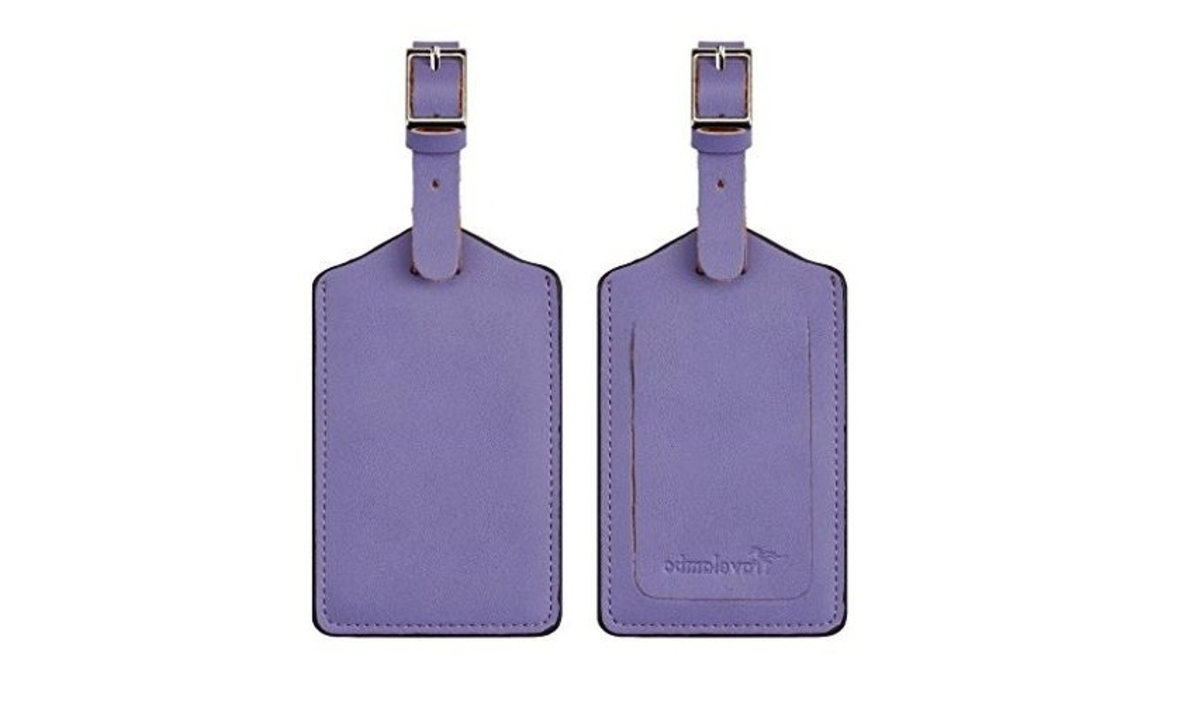 Travelambo Leather Luggage Bag Tags