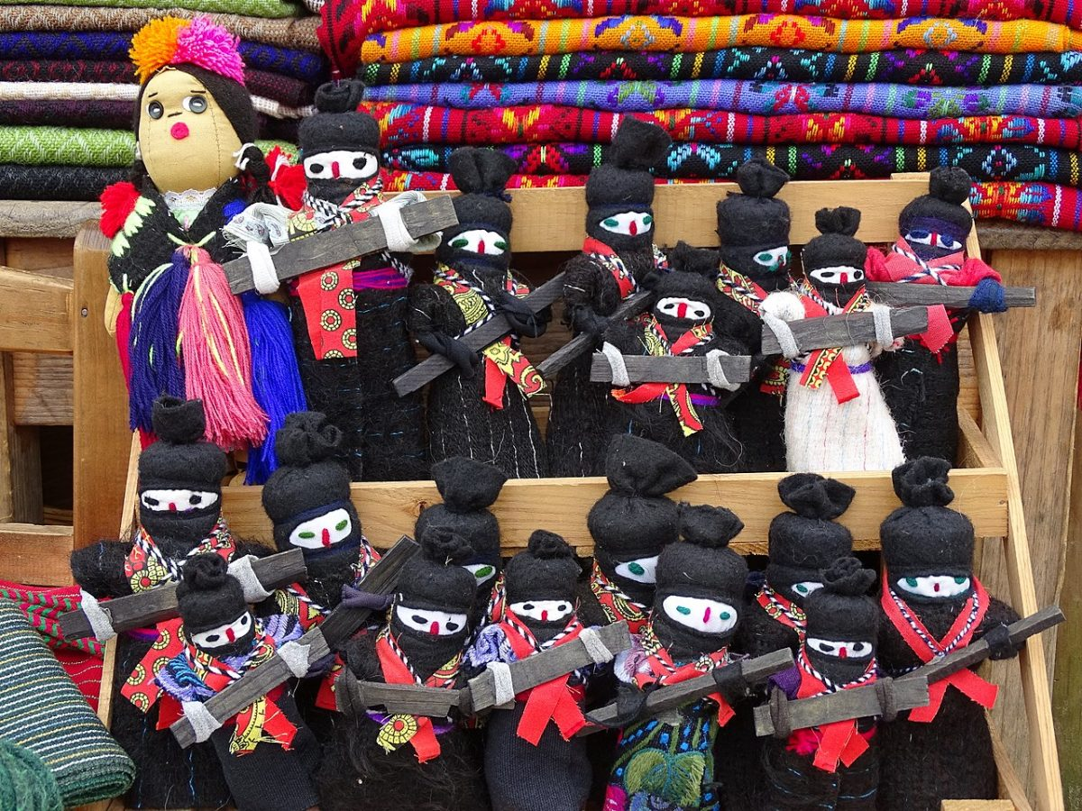 Chamula, Chiapas, Zapatista dolls