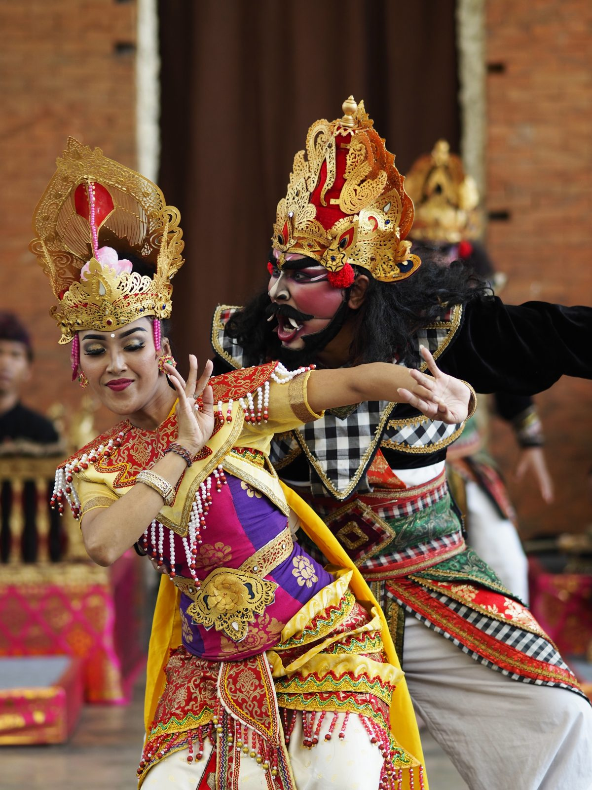 Balinese Legong dance performance