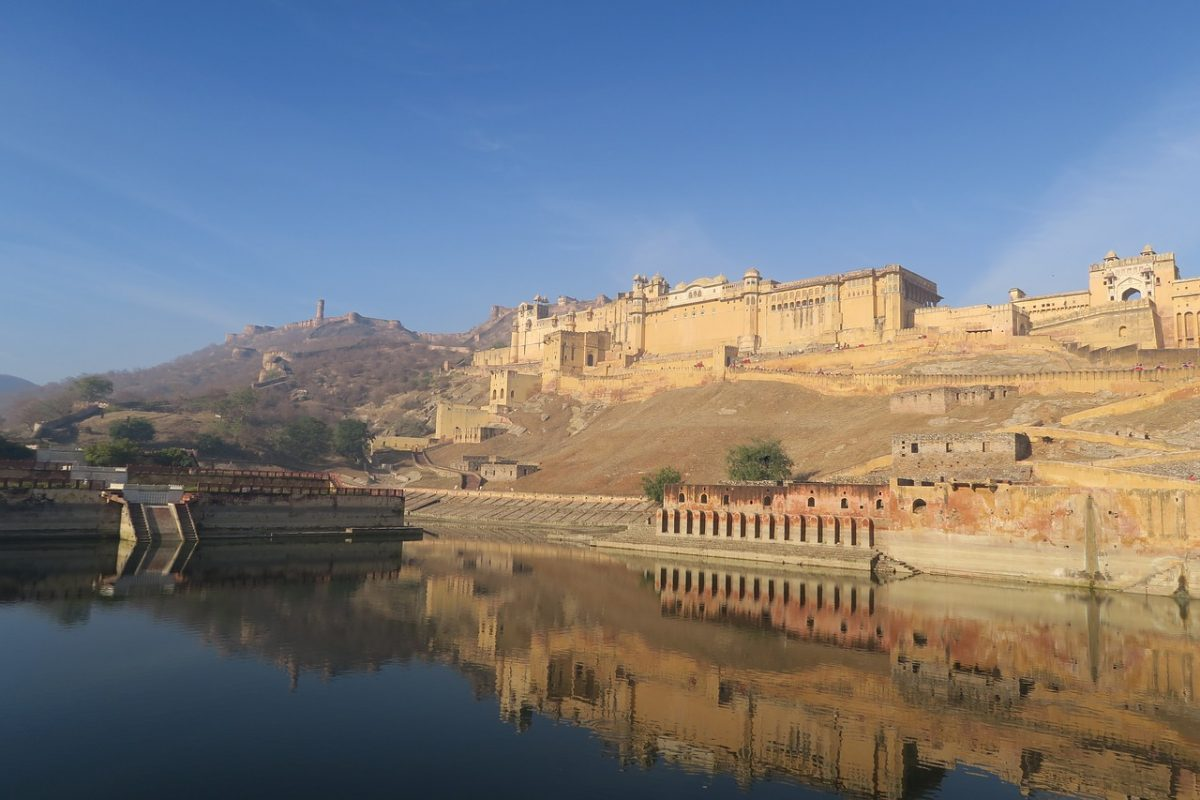 Amber Fort In Rajasthan