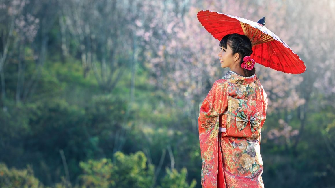 Japan, Asia, Kimono