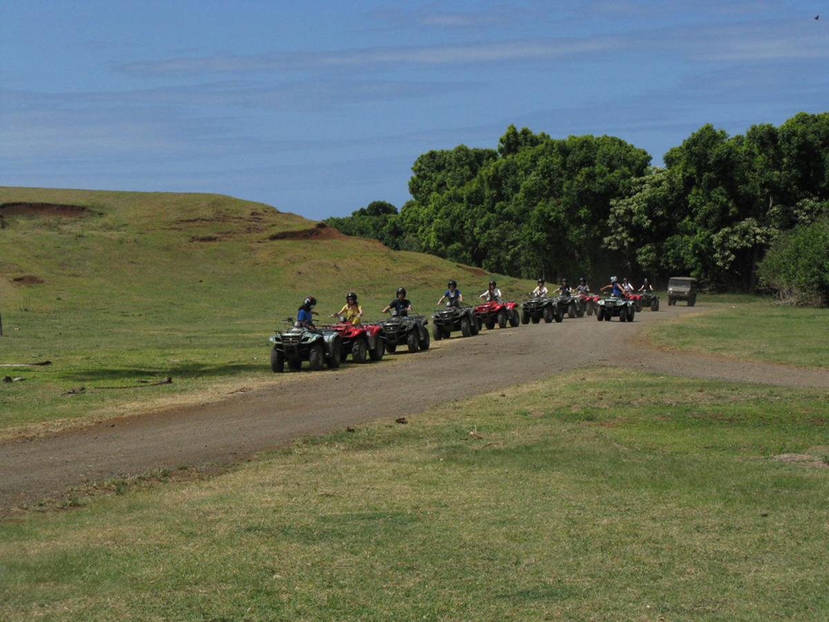 ATV Tour, Kualoa Ranch, Oahu, Hawaii