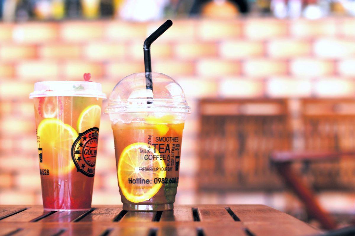 Iced Fruit Tea, Bubble Tea, Taiwan