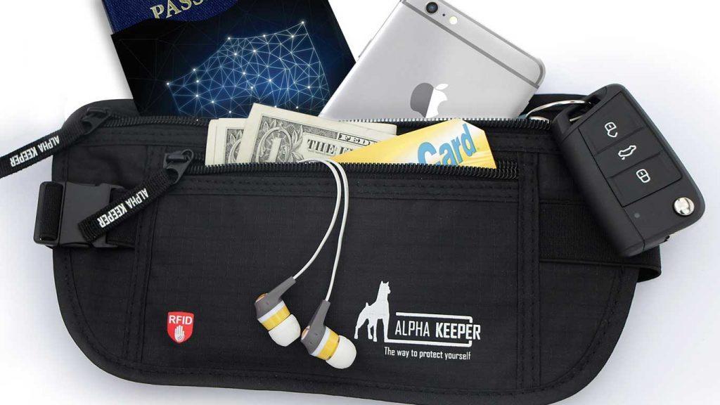 An Alpha Keeper Money Belt