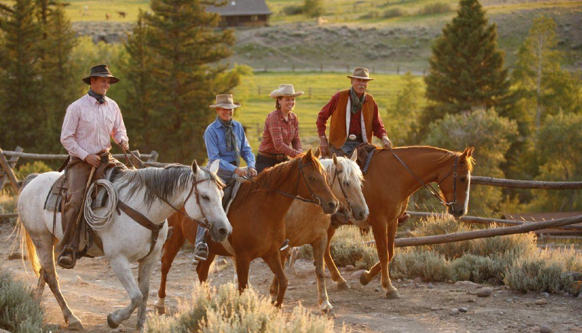 Bitterroot Ranch, Wyoming, horseback riding