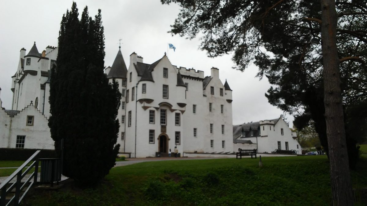 Located near the village of Blair Atholl in Perthshire, Scotland, Blair Castle was the home of Clan Murray, a Historic Scottish Clan.