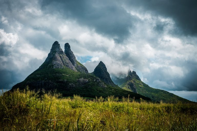 Mountains in Mauritius