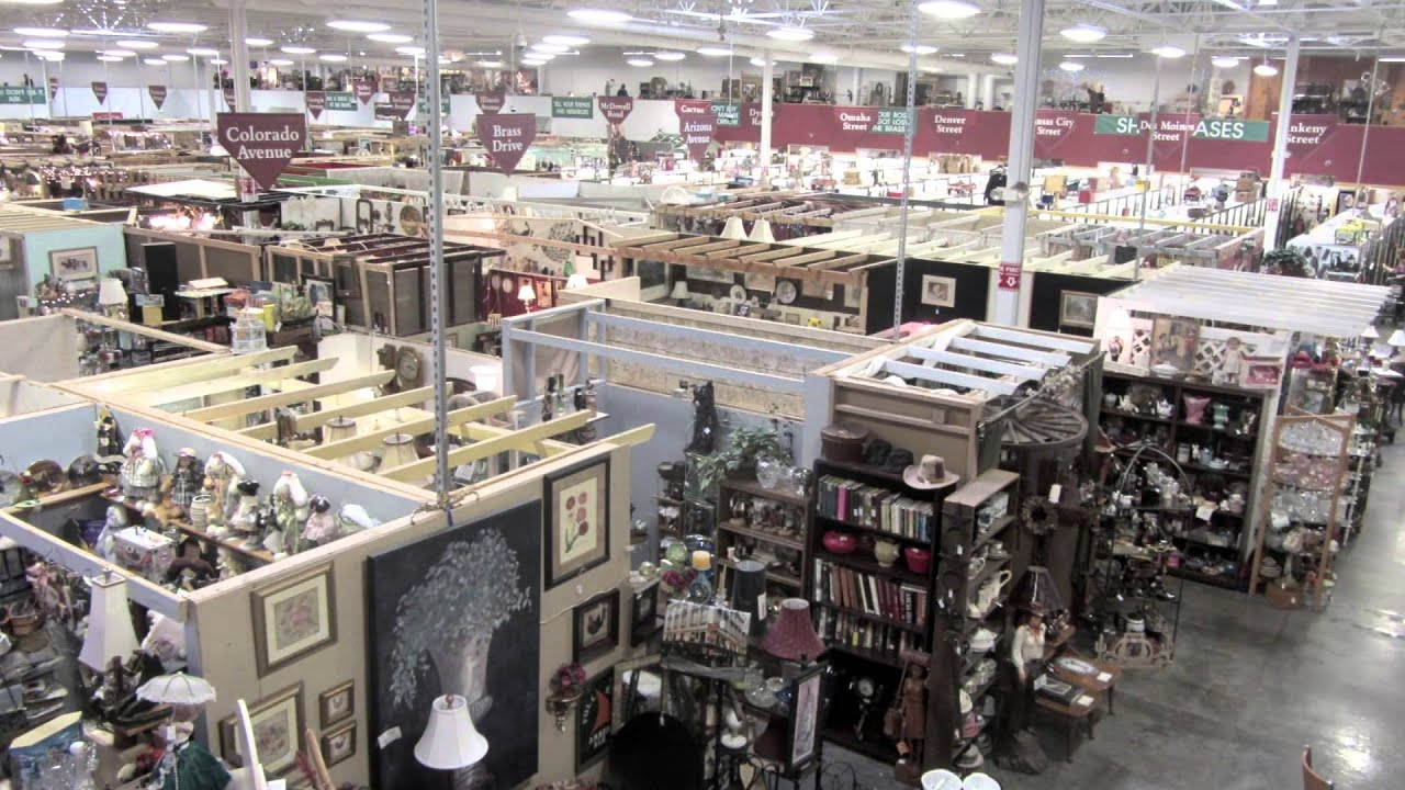 Brass Armadillo Antique Center, Antique Stores In US