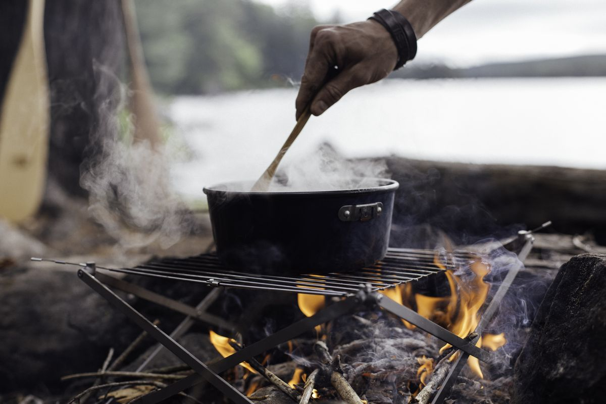 Cool camping cooking gear