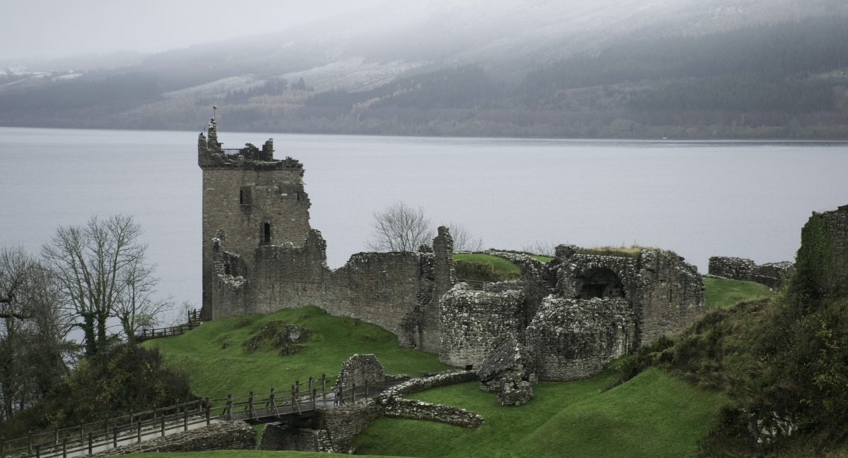 Sitting near Loch Ness in the Scottish Highlands, the ruins of Urquhart Castle is a structure rich in history.