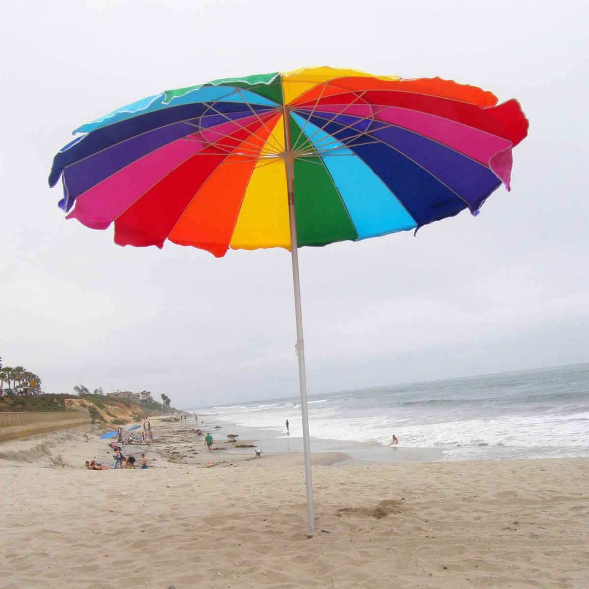 Beach Umbrella, Impact Canopy Beach Umbrella