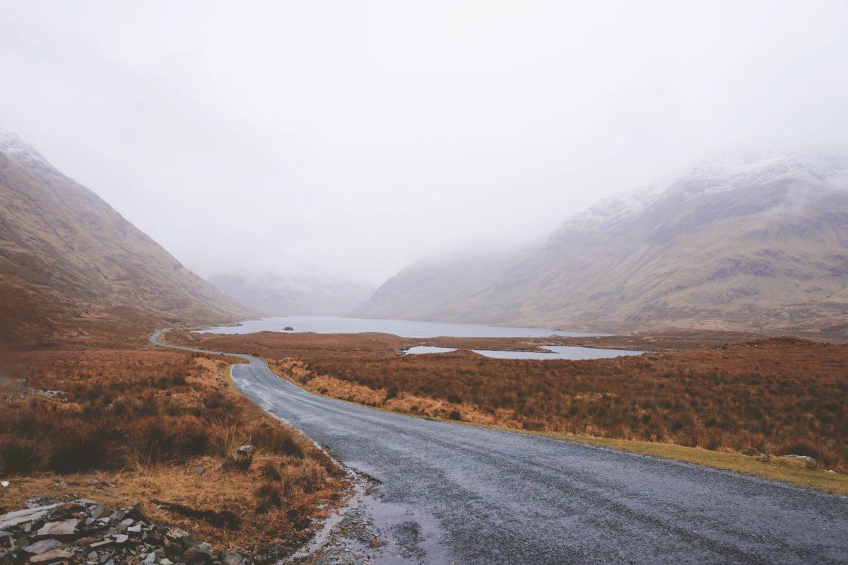 Ireland in the winter
