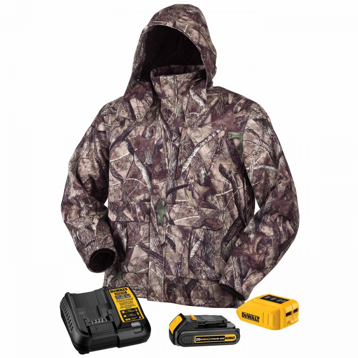 Dewalt Camo, Heated Jacket