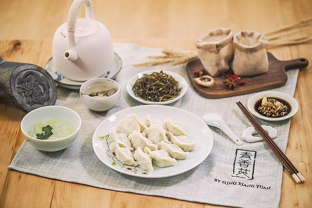 Qing Xiang Yuan Dumplings in Chinatown Chicago