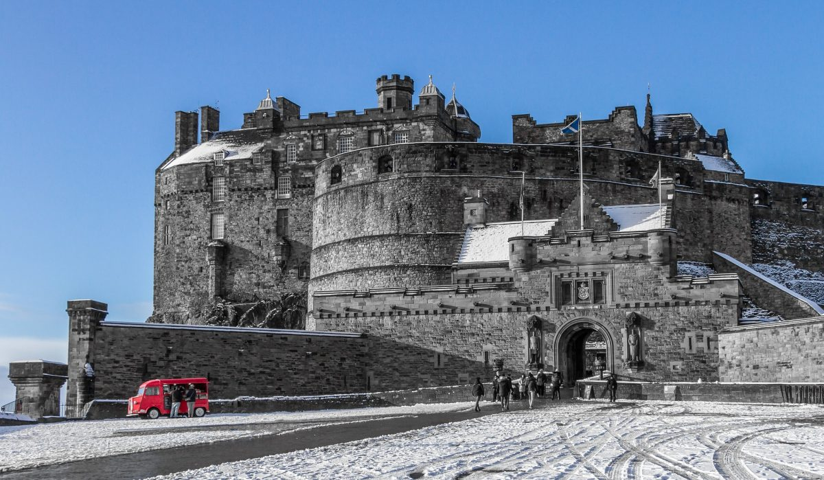 Dominating the skyline of the city of Edinburgh, Edinburgh Castle was the centre of much Scotland's history.