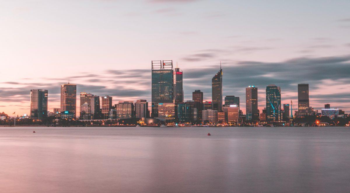 River view of Perth, Australia