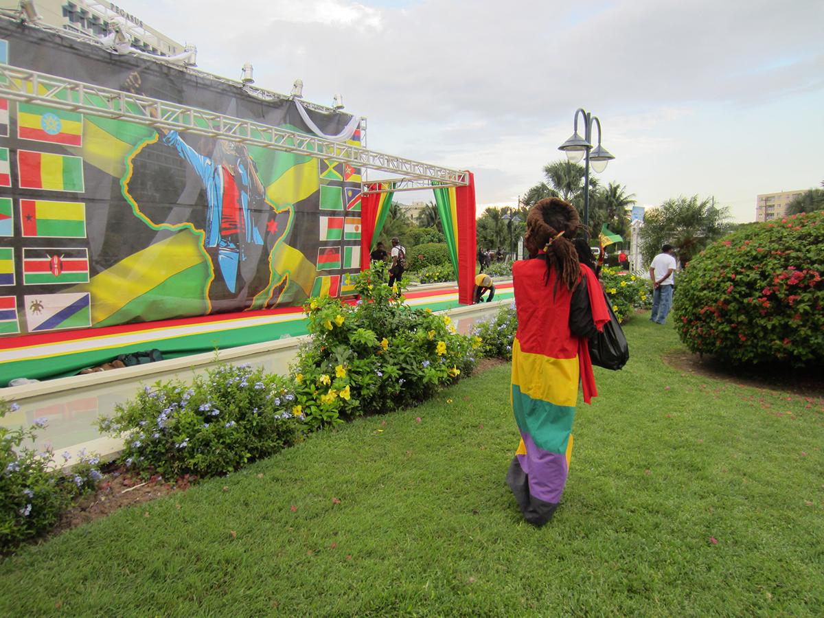 Emancipation Park, Kingston, Jamaica