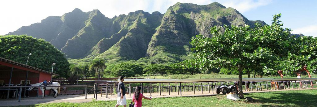 Kualoa Ranch, Oahu, Hawaii