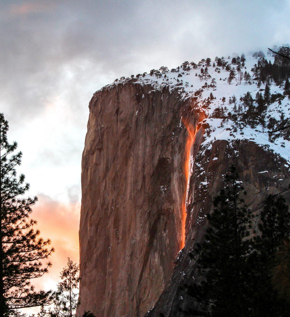 Amazing yosemite firefall