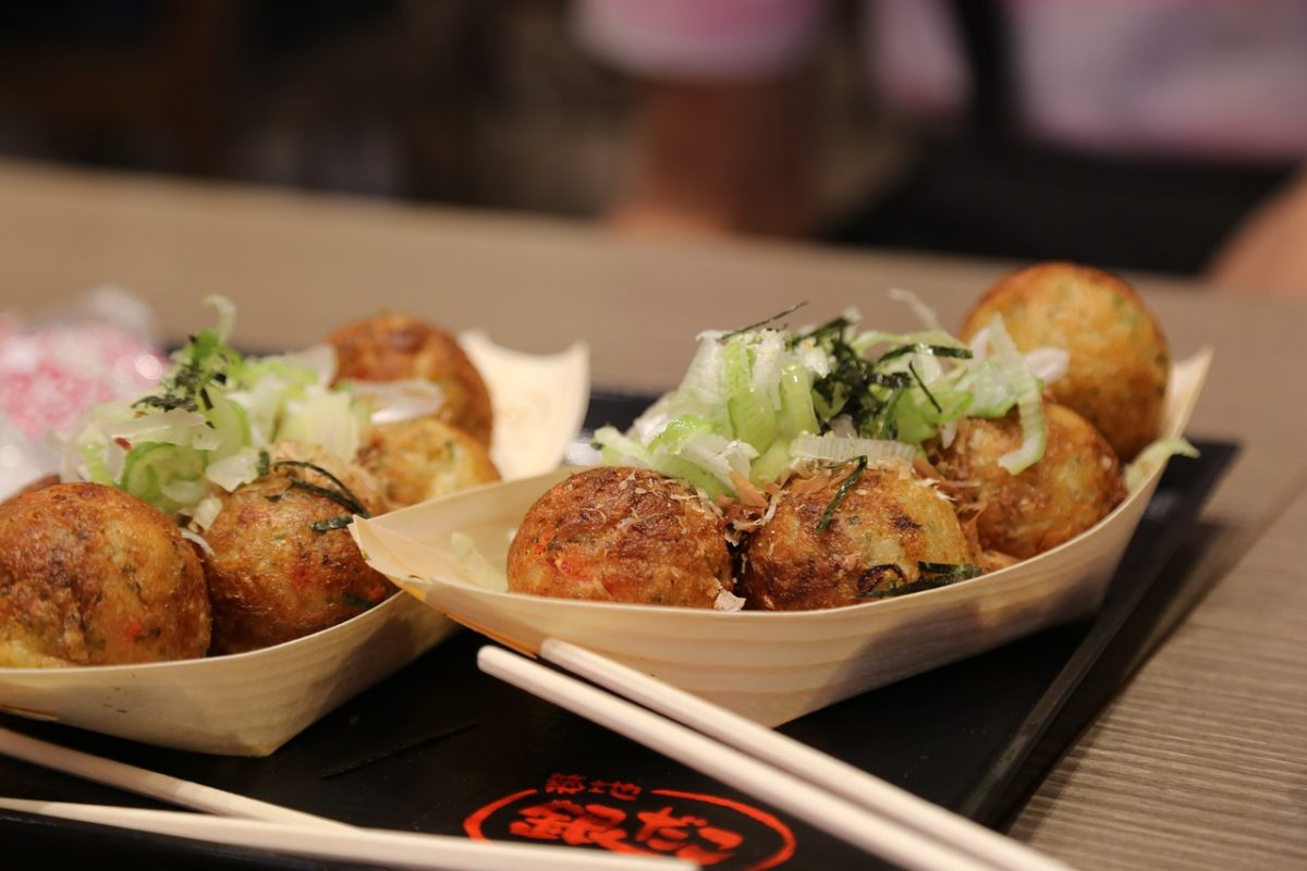 Takoyaki, Japanese Food, Japan