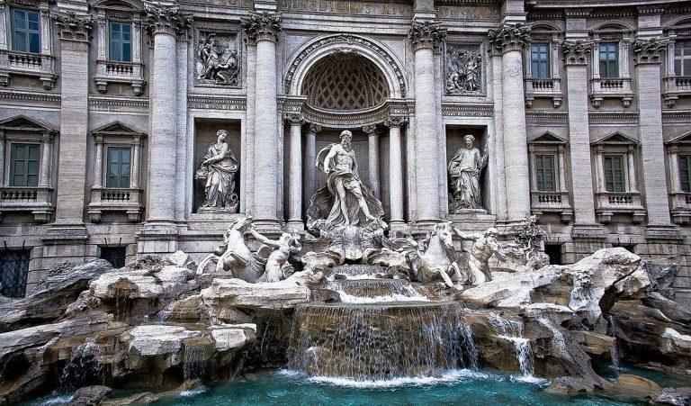 Trevi Fountain, Fontana di Trevi
