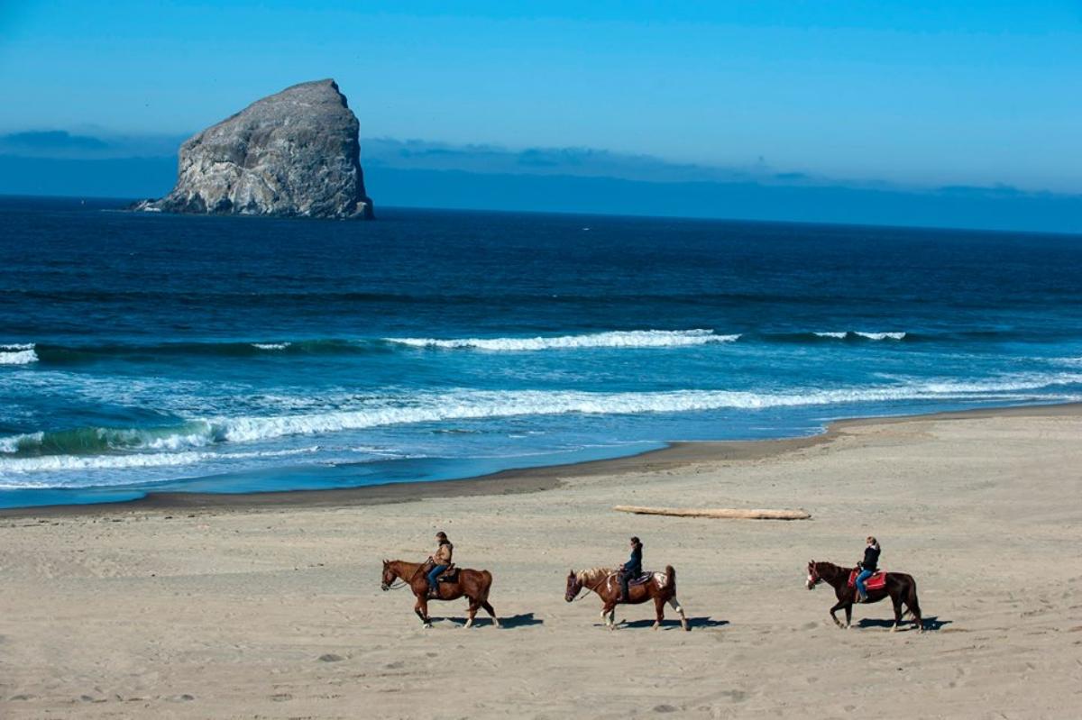 Green Acres Beach & Trail Rides, Oregon, horseback riding