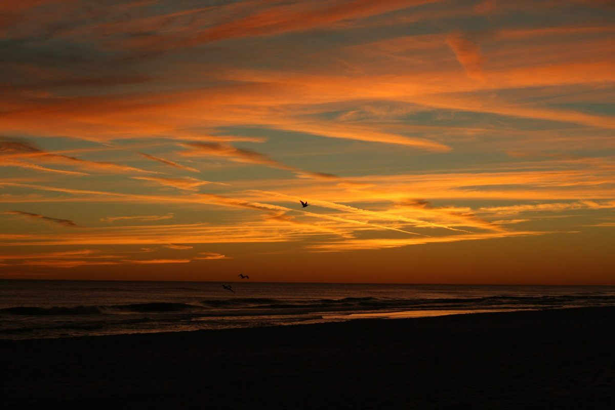 Sunset, Beach, Destin, Florida