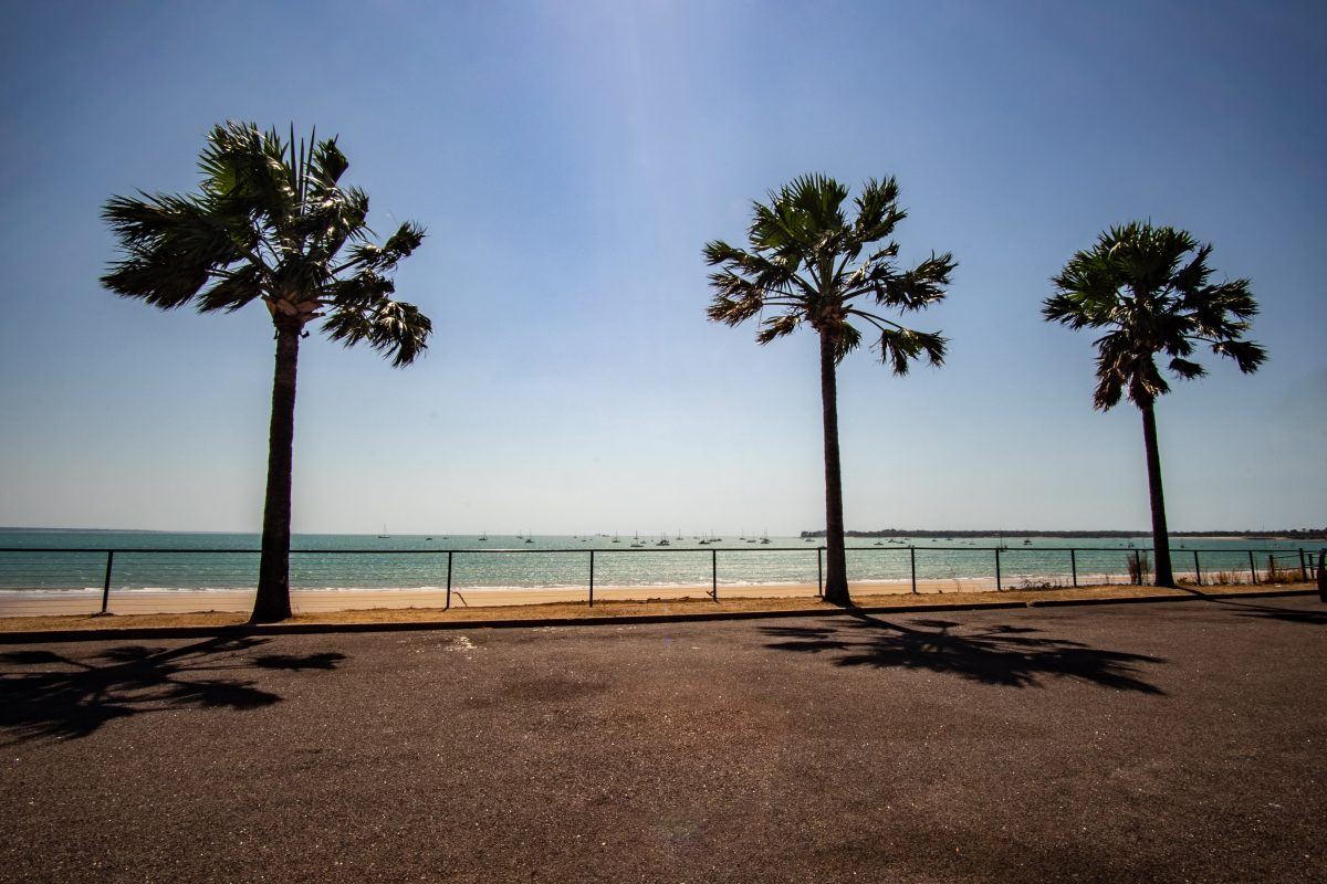 Darwin sea view by the beach