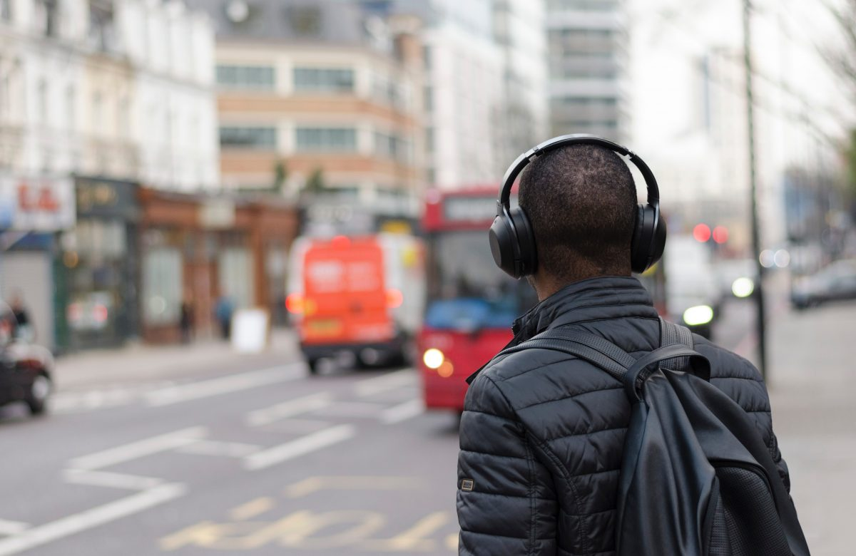 Travelling with headset in London