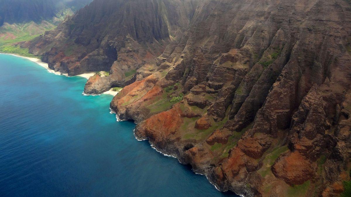 Honopu Beach, Kaua'i, Hawaii