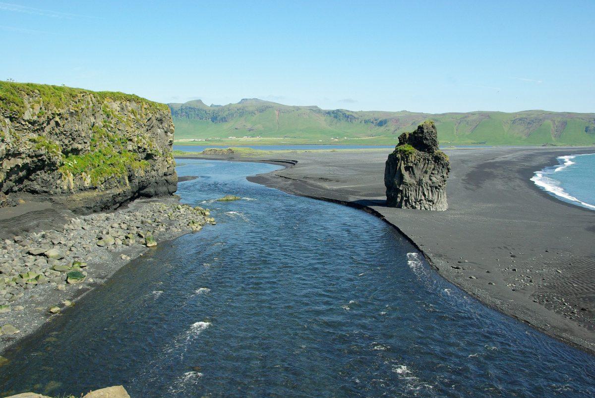 Reynisfjara Beach, Iceland, Black Sand Beach